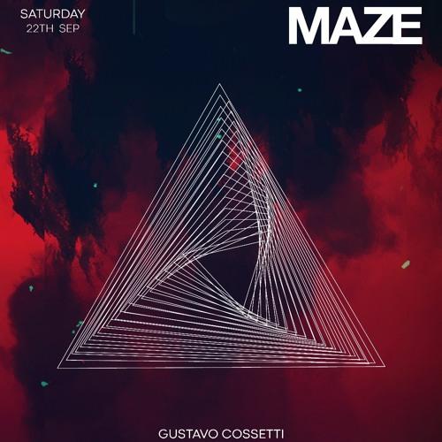 Gustavo Cossetti @ MAZE  22 Sep 2018 - London