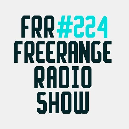 Freerange Radioshow 224 - September 2018 - One Hour Guestmix from Simbad