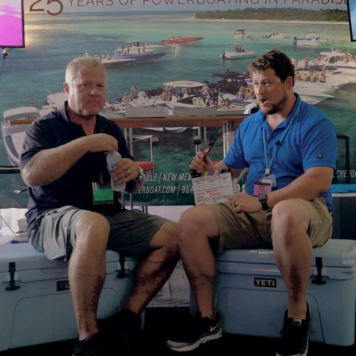 Stu Jones of the Florida Powerboat Club (FPC) at the Miami Boat Show 2018