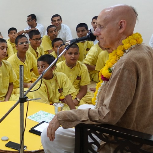 Training the Youth to Become World Leaders--2 Oct 2018--Vrindavan, India