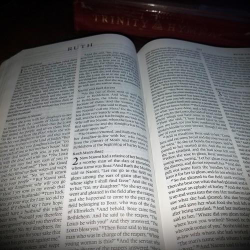 Ruth 1:8 - 10 Lesson 4