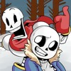 "Sans and Papyrus rap by JT Music ""To The Bone"" lyrics"