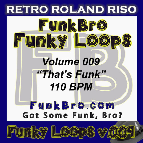 FunkBro Funky Loops v009 - That's Funk - 110BPM
