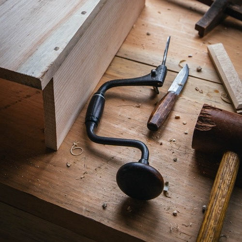 "10 - ""Barriers to Woodworking"" with Jim McConnell"