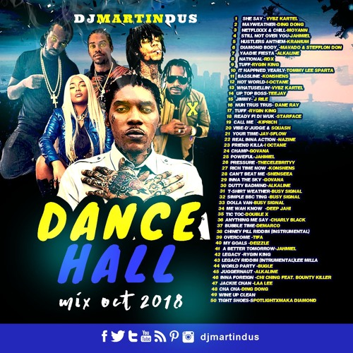 Dancehall Mix October 2018 by MARTIN DUS (OFFICIAL) | Free Listening