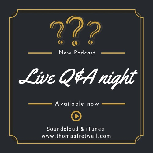 Live Question & Answer Night