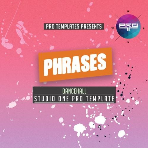 Phrases Studio One Pro Template