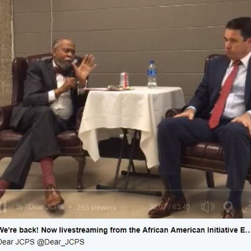 10-4-18 Interview with Dr. Marty Pollio and Senator Gerald Neal from Education Summit