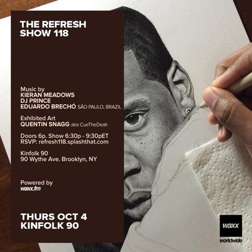 The REFRESH Radio Show # 118 (+ special guest DJ set from Eduardo Brechó from São Paulo, Brazil)