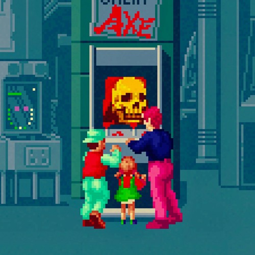 The Legend of the Haunted Arcade