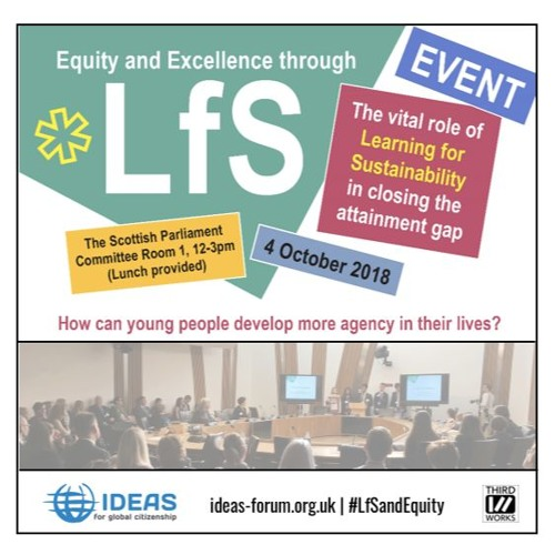 LfS and Equity at Scottish Parliament