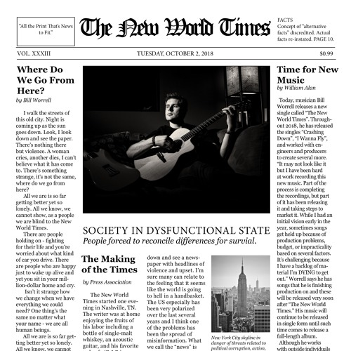 The New World Times [Single]