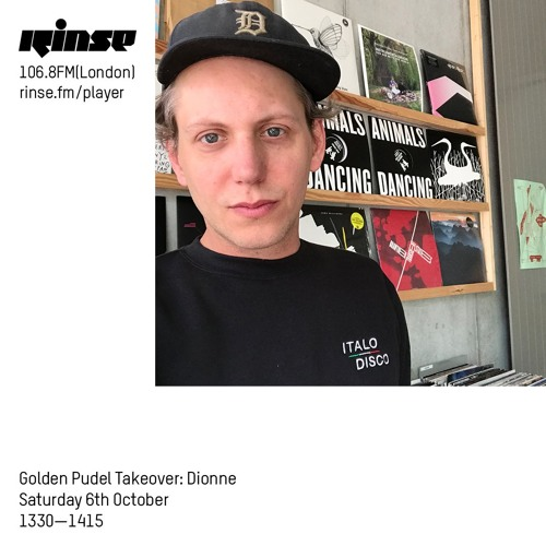 Golden Pudel Takeover: Dionne - Saturday 6th October 2018