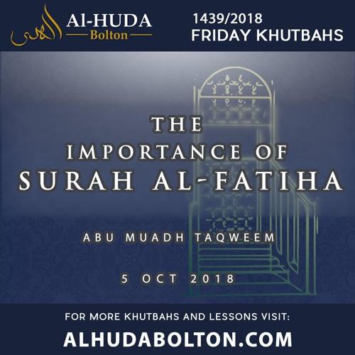 The Importance of Surah Al-Fatiha