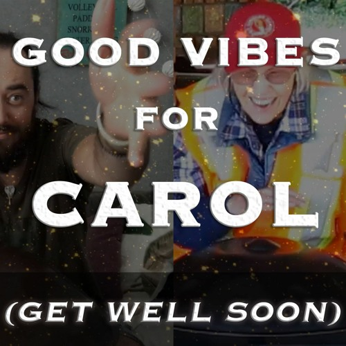 "Good vibes for Carol (get well soon) - ""We Love You Carol"" Handpan Video ""Challenge"""