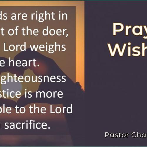 Prayful Wishing