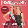 ELECTION MISS FRANCHE - COMTE 2018 le Samedi 20 Octobre à BELFORT