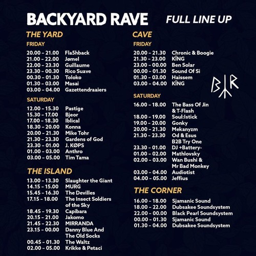 Iblical live @ BackYard Rave; 22/09/'18 part one