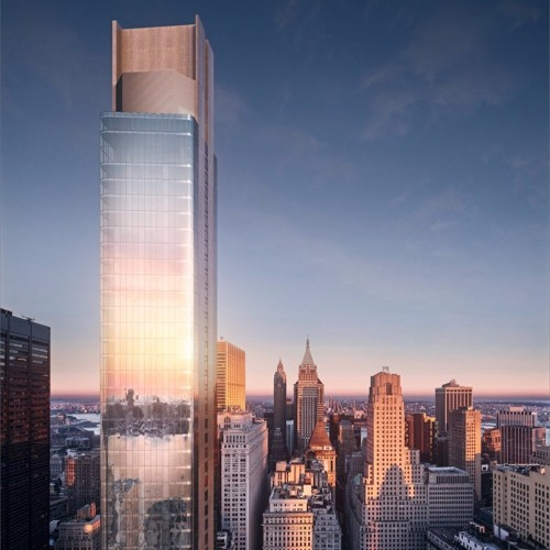 1WTC Neighbor Two-Thirds of Way to 912-ft-Tall Pinnacle