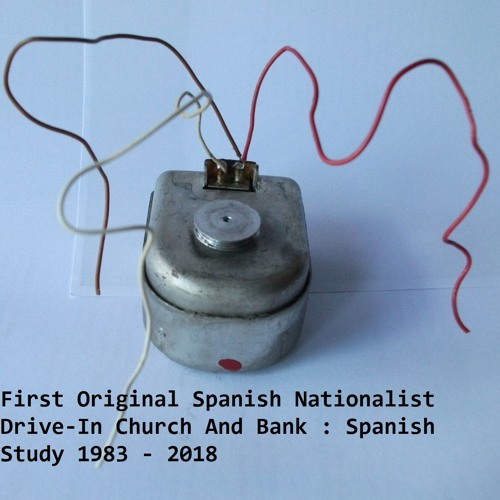 First Original Spanish Nationalist Drive In Church And Bank - Spanish Study 1983-2018 clip