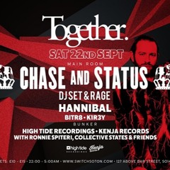 DJ Hannibal - Chase & Status@ Switch 18H4A Re-Record
