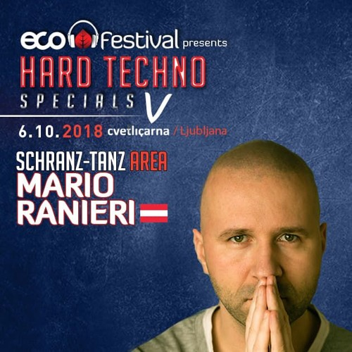 ECO Festival pres. Hard Techno Specials V @ Cvetličarna Ljubljana, Slovenia 6.10.2018
