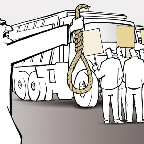 دور جدید اعتصاب کامیونداران و تهدید آنها به برخورد شدید قضایی