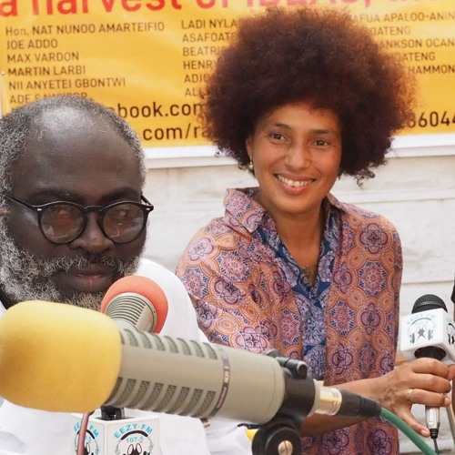 Oxana Chi & Layla Zami Special Guests on EEZY RADIO in Ghana