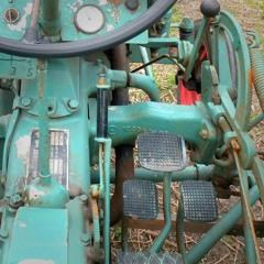 Kramer KL11 Oldtimer Tractor (1955) Idle To Turning Off BeltMic
