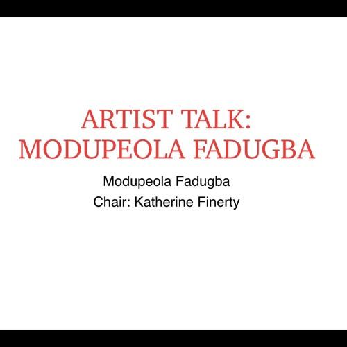 FORUM London 2018: Artist Talk with Modupeola Fadugba
