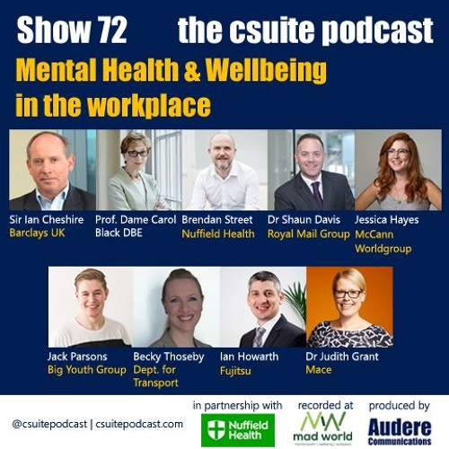 Show 72 - Mental Health & Wellbeing in the Workplace