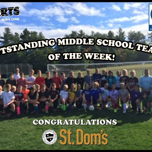 Champoux Insurance Middle School Team of the Week; #NHLBruins talk w/ @BrunsDaily
