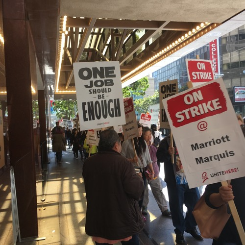WW10-9-18 Marriott Unite Here Strike In SF, IBT UPS Contract Fight and CTA Charters & Val Cuevas