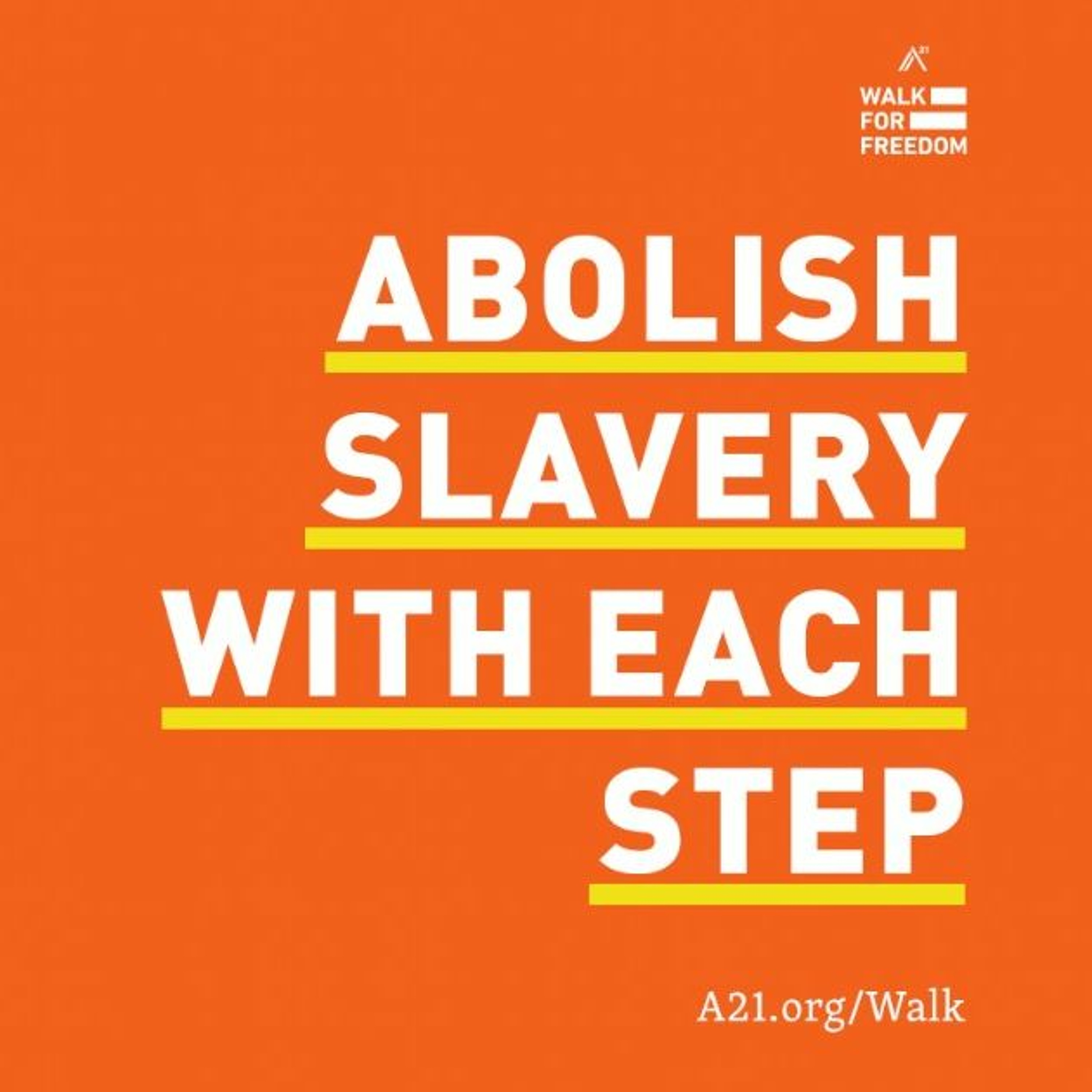 Walk For Freedom 2018 Podcast