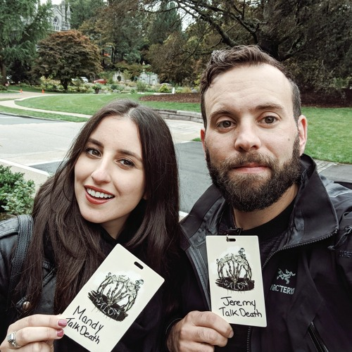 Death Salon 2018 with Mandy and Jeremy from TalkDeath