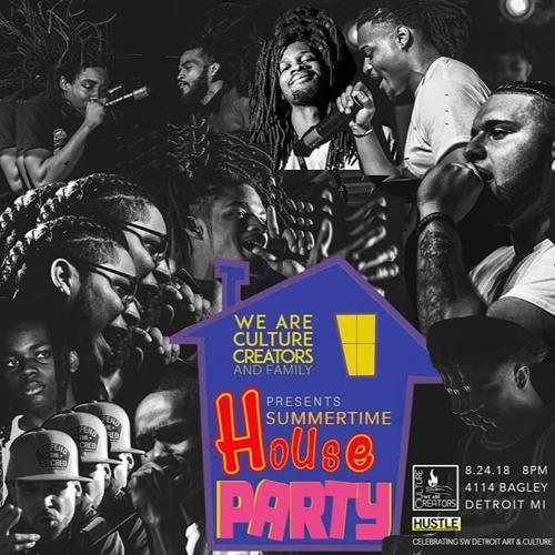 Problematicblackhottie live @ We Are Culture Creators House Party