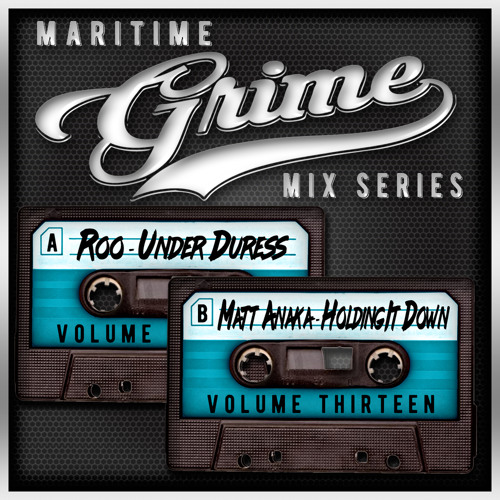 Maritime Grime Mix Series Volume 013 f/ Roo & Matt Anaka(MGMS013) SPECIAL RETRO EDITION