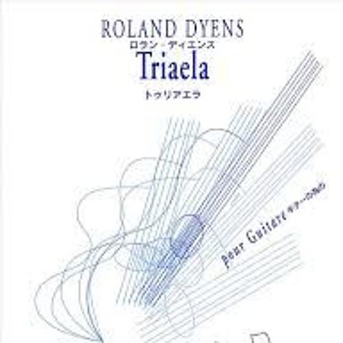 Triaela ( black horn )by Roland Dyens, guitar: Chronis Koutsoumpides