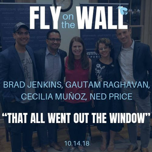 """West Wingers: """"That all went out the window"""""""