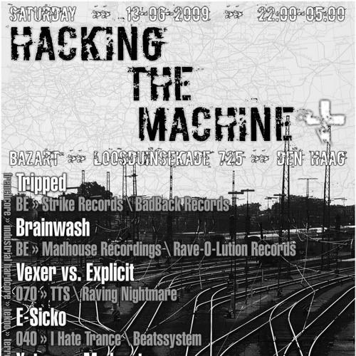 Melvin Tegno @ Hacking The Machine +   Bazart - Den Haag - NL   13-06-2009