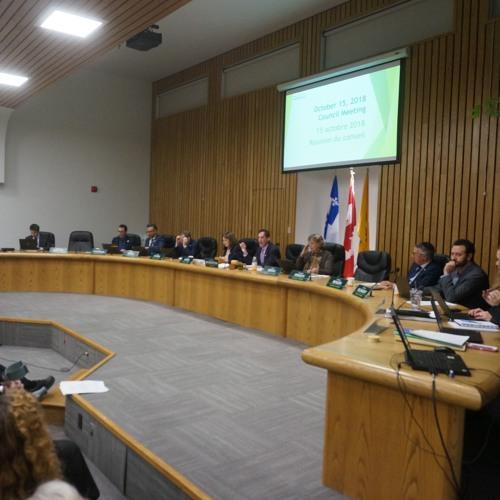 Council Meeting - October 15, 2018 // Côte Saint-Luc