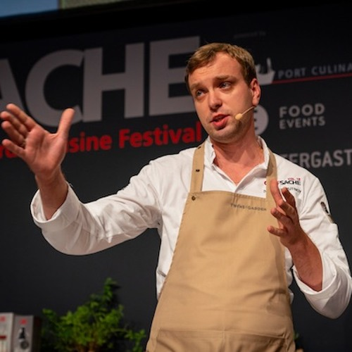 Auf der Chef-Sache mit russischer Küche, dem Wurstsack – und einem der besten Bäcker Deutschlands