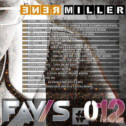 FAV/S#012 - mixed by Renè Miller (Melodic Techno & House)