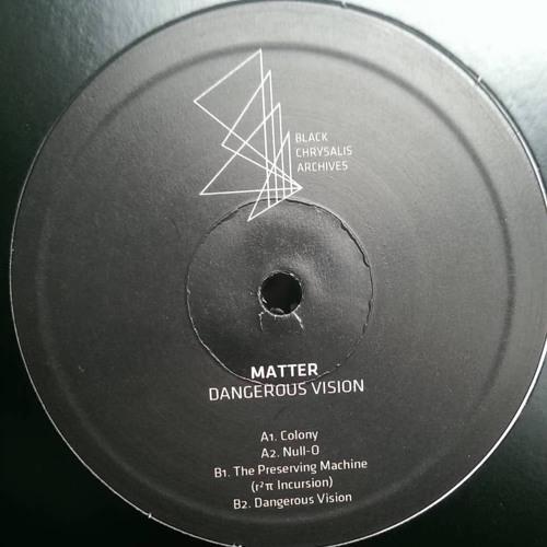 Matter - The Preserving Machine(r²π Incursion) [BCAI01]