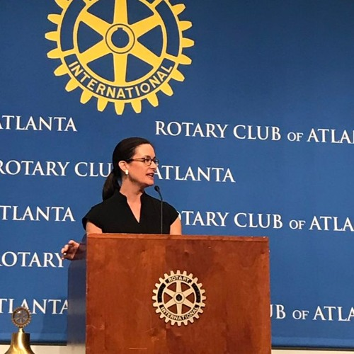 Rotary Club of Atlanta Podcast Series Episode 12: Dr. Katharine Wilkinson