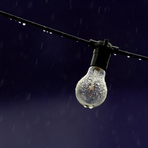 Nachts im Regen