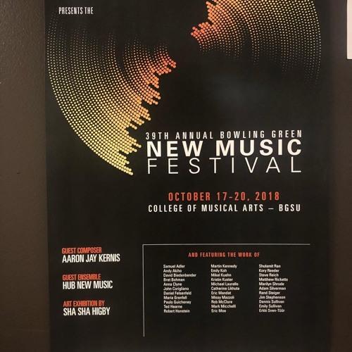 2018 BGSU New Music Festival Composer Profile Podcasts
