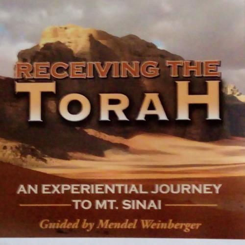 Receiving The Torah, an excerpt