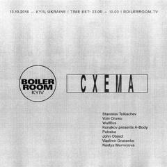 Vladimir Gnatenko   Boiler Room x Cxema
