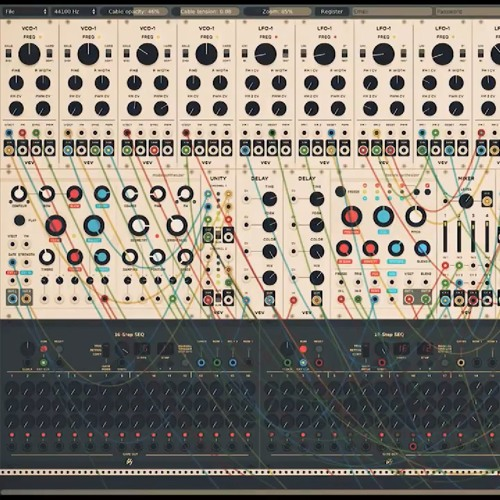 The Outer Space -- 2 -- Sharpen!Strokes On VCV Rack